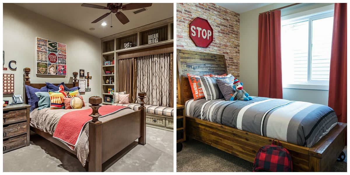 country style kids room, stylish country interior design for kids