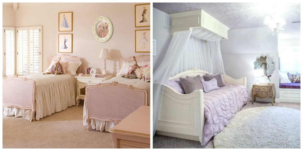 country style kids room, French country style kids room design
