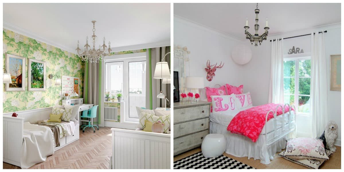 country style kids room, Provence style kids room