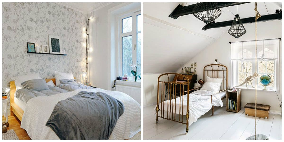 country style kids room, Scandinavian country style kids room