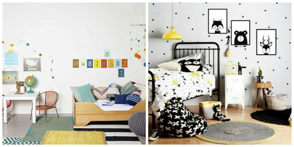 country style kids room, Scandinavian kids room design ideas