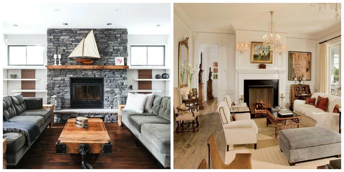 Storing Firewood Living Room