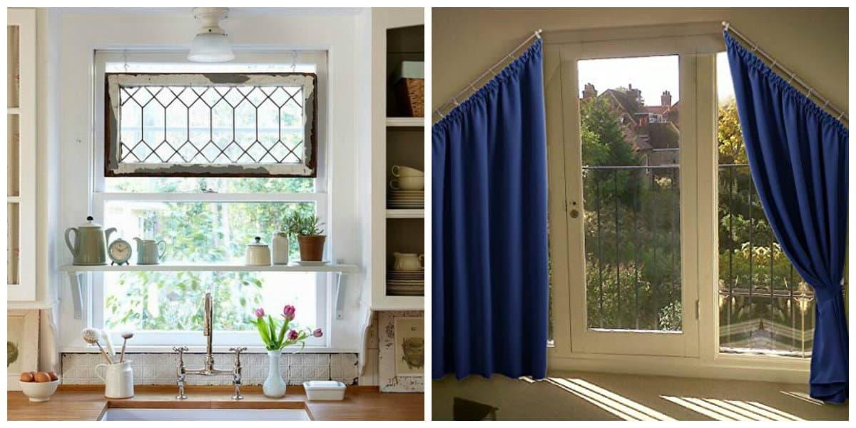 loft curtains, loft style curtains for kitchen
