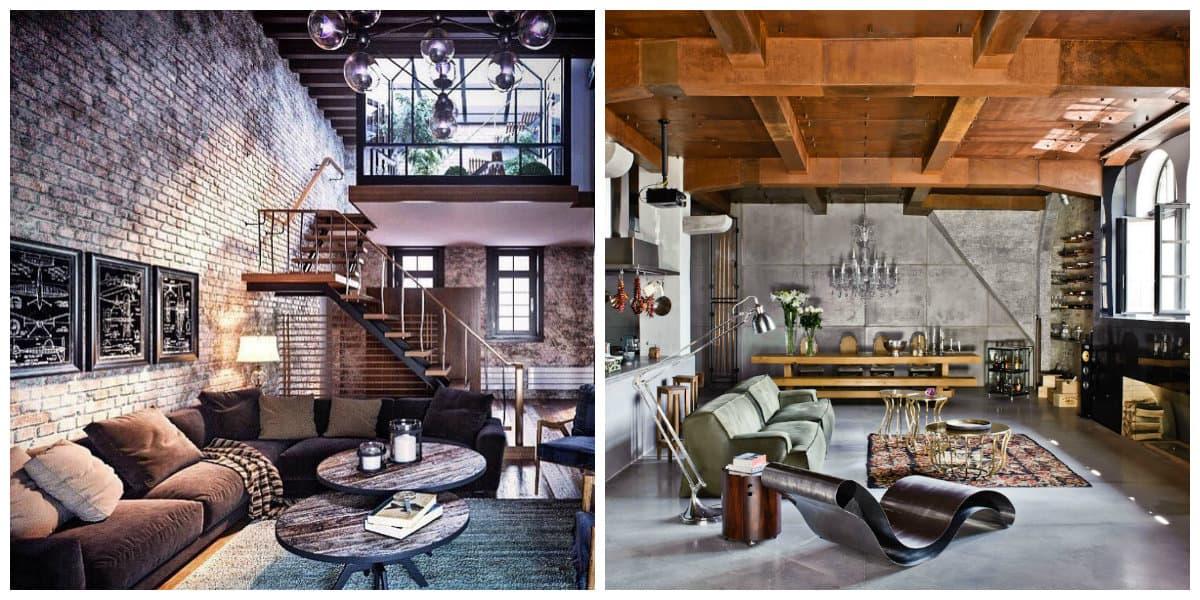 loft style apartment, wall design ideas for loft style apartment