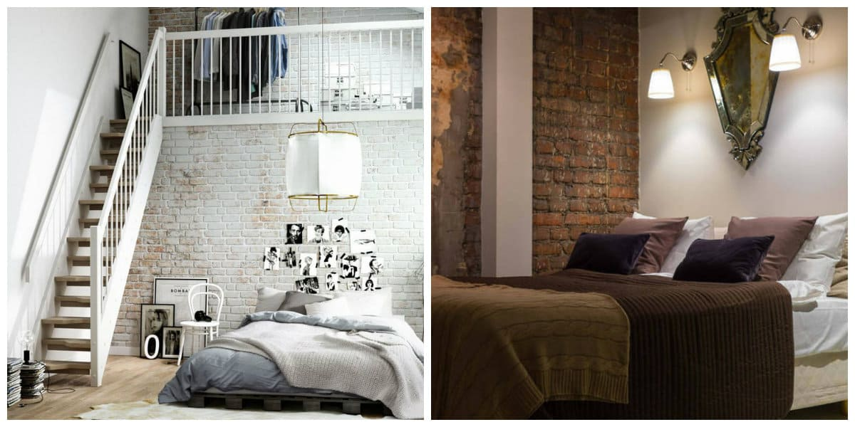 loft style bedroom, trendy ideas and features for bedroom in loft style