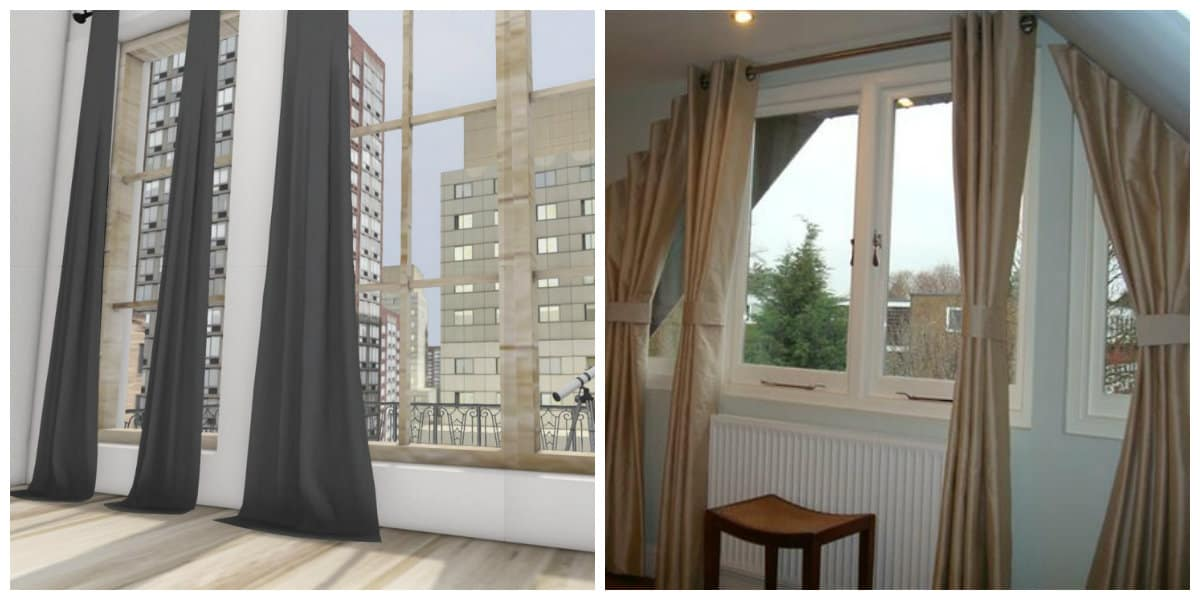 Loft Style Curtains Characteristics And Design Ideas For