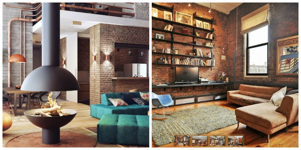 loft style room, trends and tendencies of loft style room