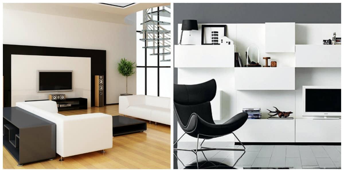 minimalist style room, furniture design in minimalist style