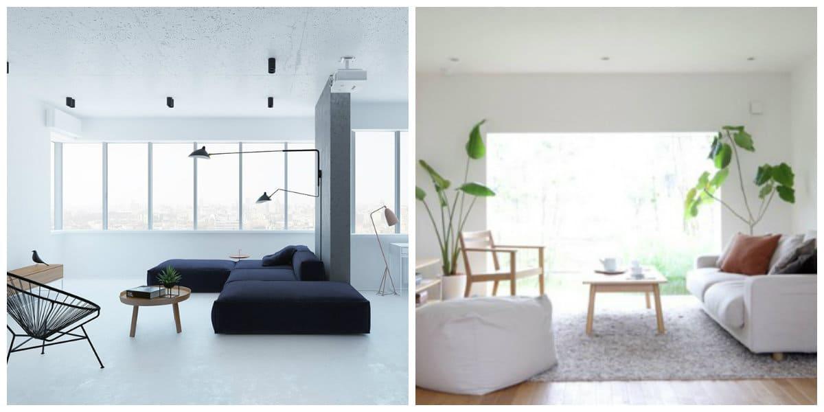 minimalist style room, minimalistic living room interior design