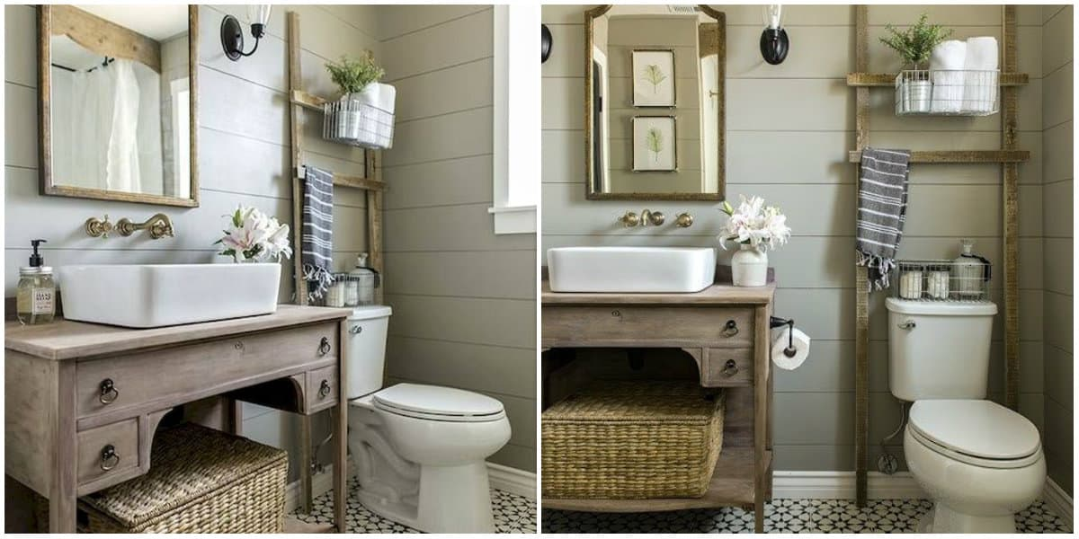 Bathroom trends 2019: Antique bathroom style