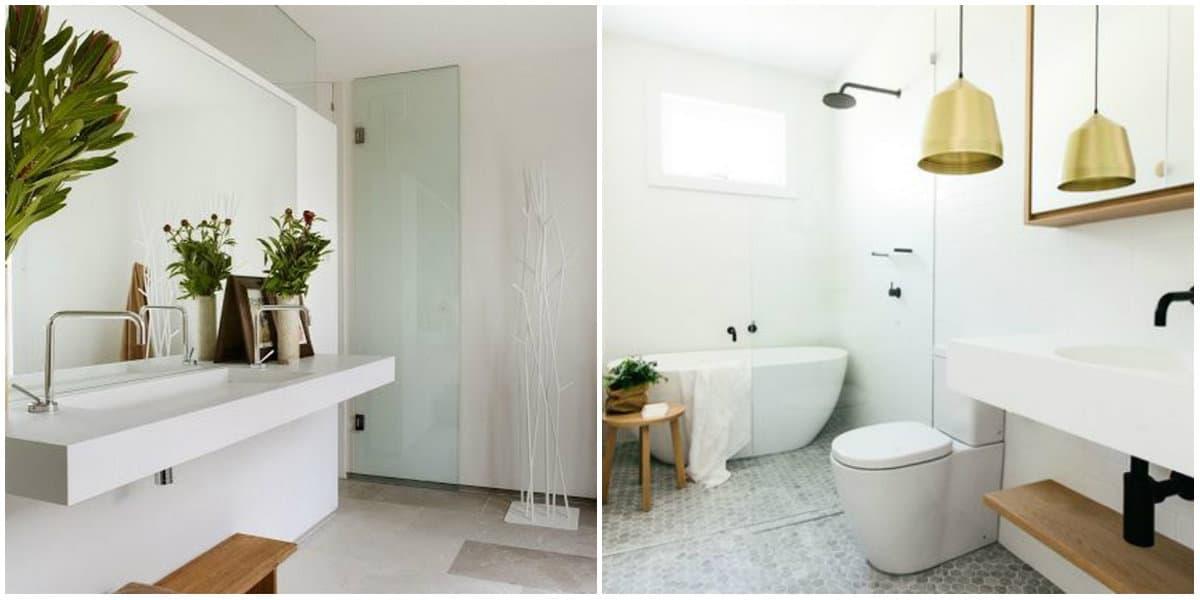 Bathroom trends 2019: Bathroom in loft style