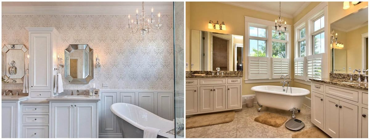 Bathroom trends 2019: Neoclassical style