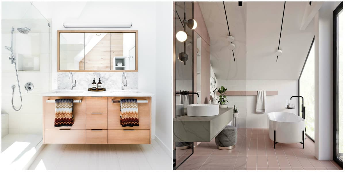 Bathroom trends 2019: Vintage style
