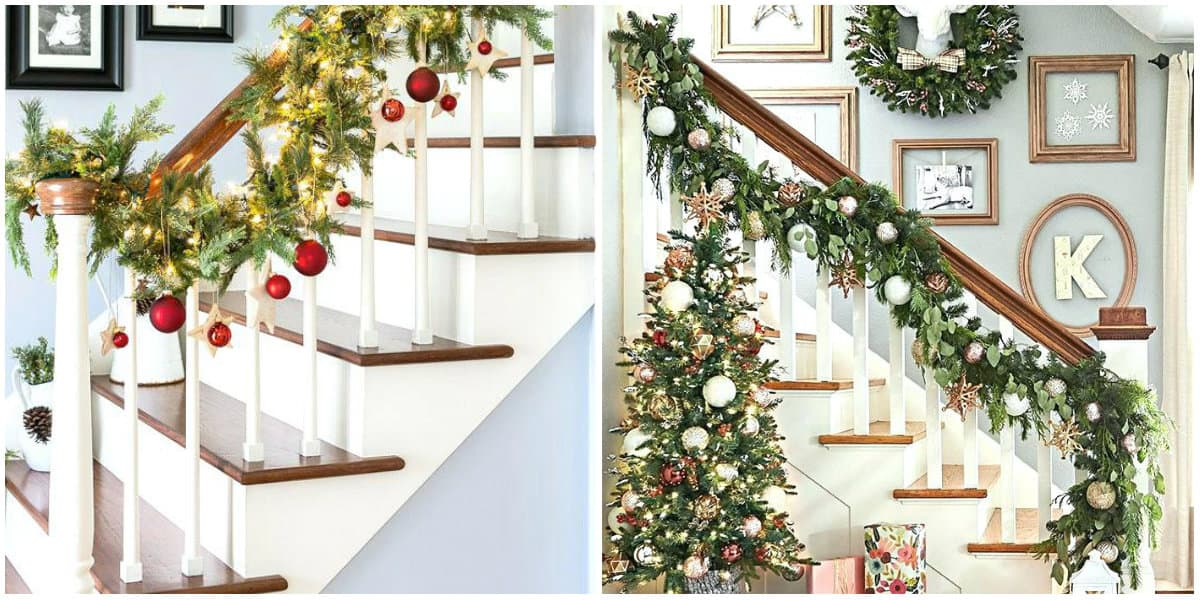 Christmas decorations 2019: Christmas decoration with fur tree banches and toys