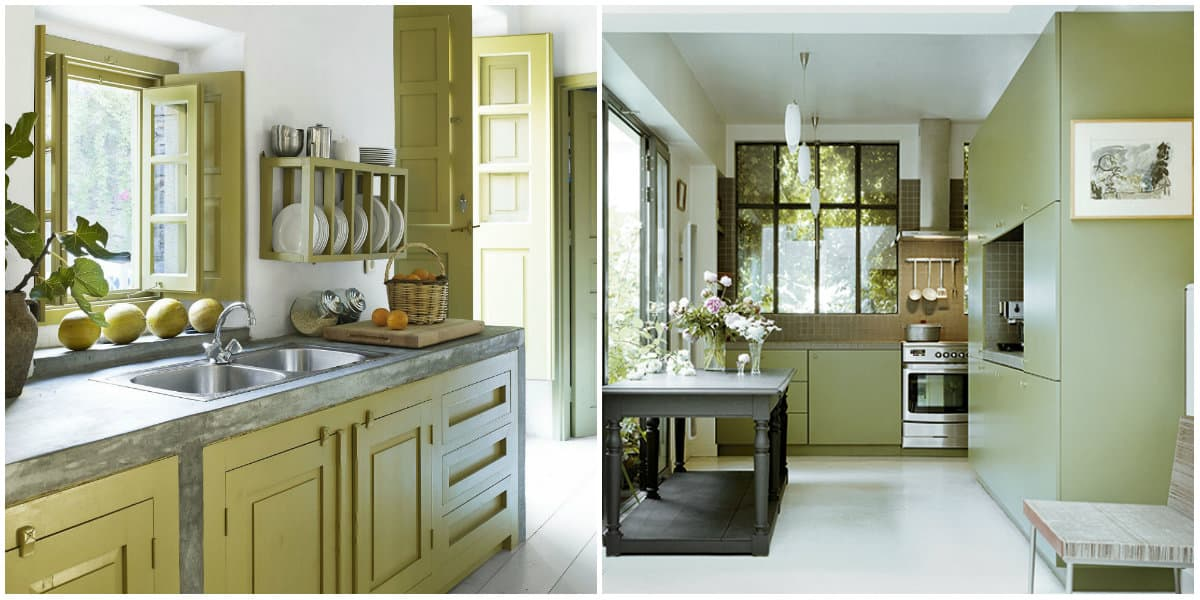 Kitchen ideas 2019: Kitchen design in green