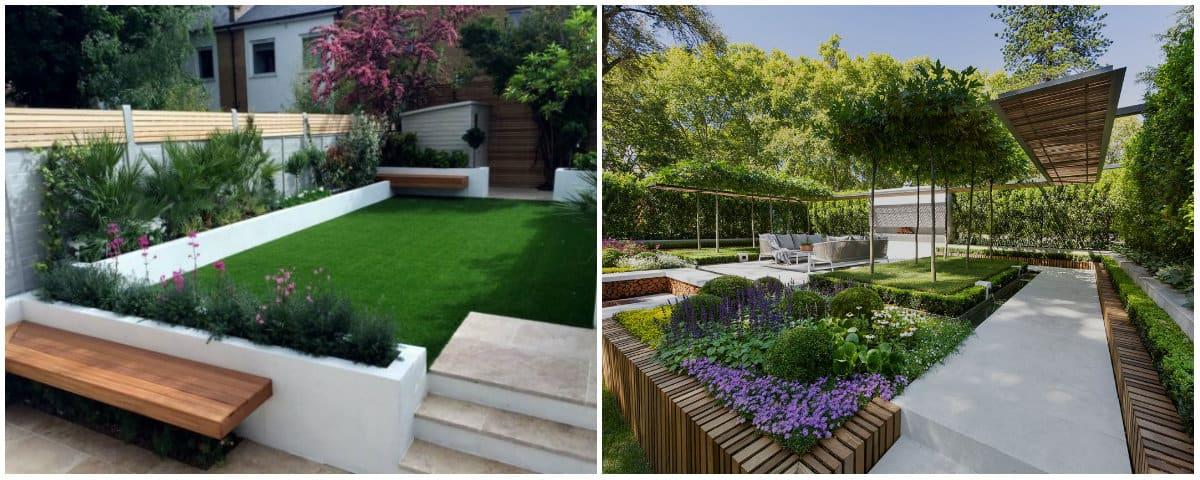 Landscape design 2019: Styles