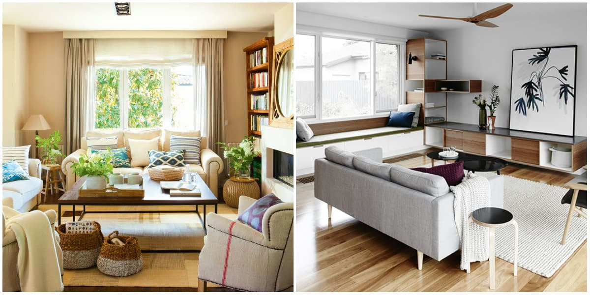 Living room design 2019: Eco design vs minimalist living room design