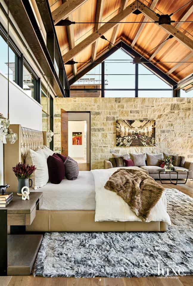 Modern interior 2019: Loft bedroom design
