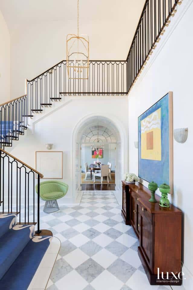 Modern interior 2019: lassic design