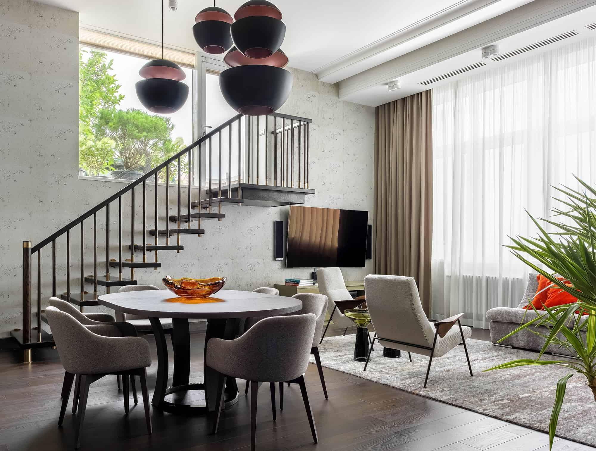 Modern interior 2019: High-tech design