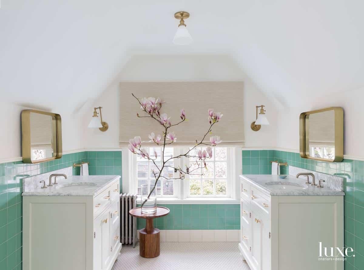 Modern interior 2019: Bathroom design