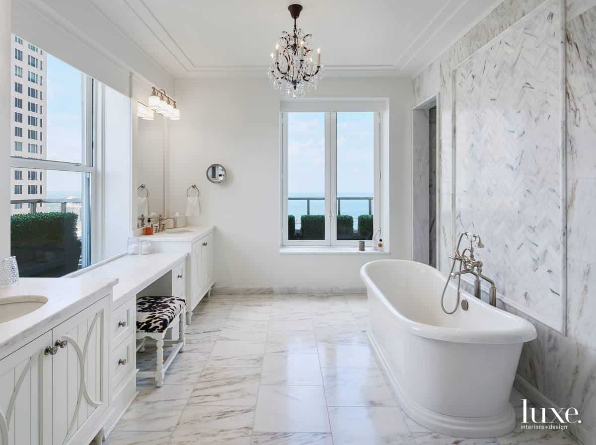 Modern interior 2019: Bathroom in Minimalism