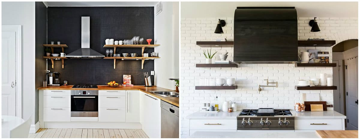 Small kitchen designs 2019: Kitchen design in white