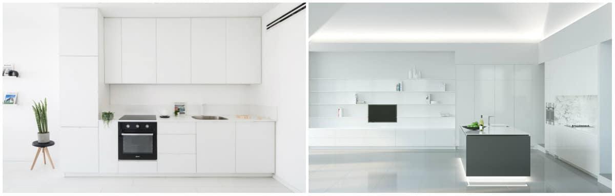 Small kitchen designs 2019: Kitchen design in Minimalism