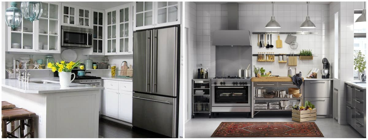 Small kitchen designs 2019: Living room and kitchen in one room