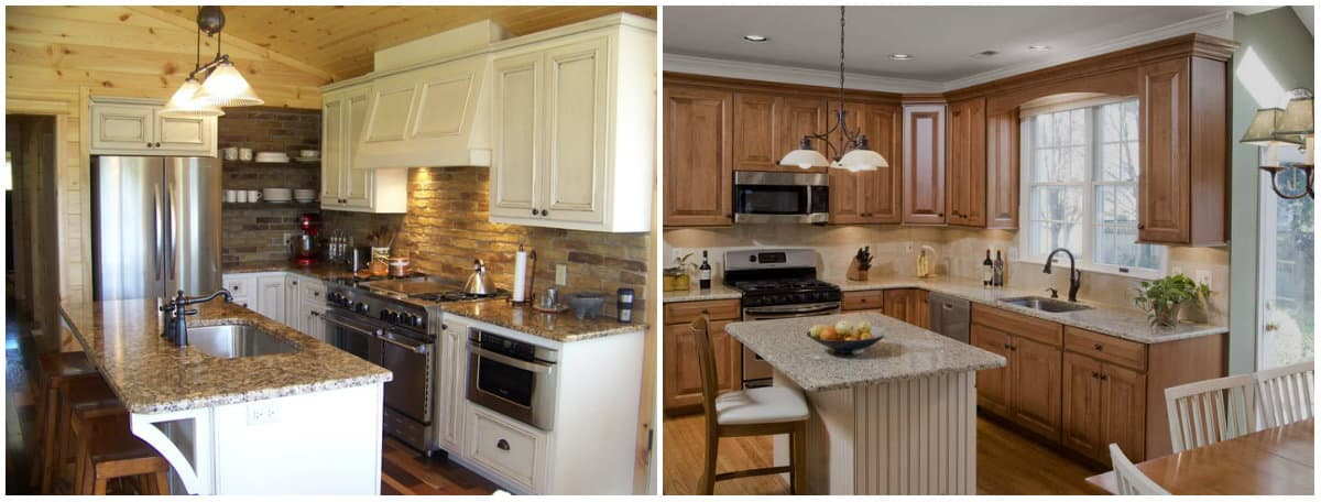 Small kitchen designs 2019: Country style kitchen
