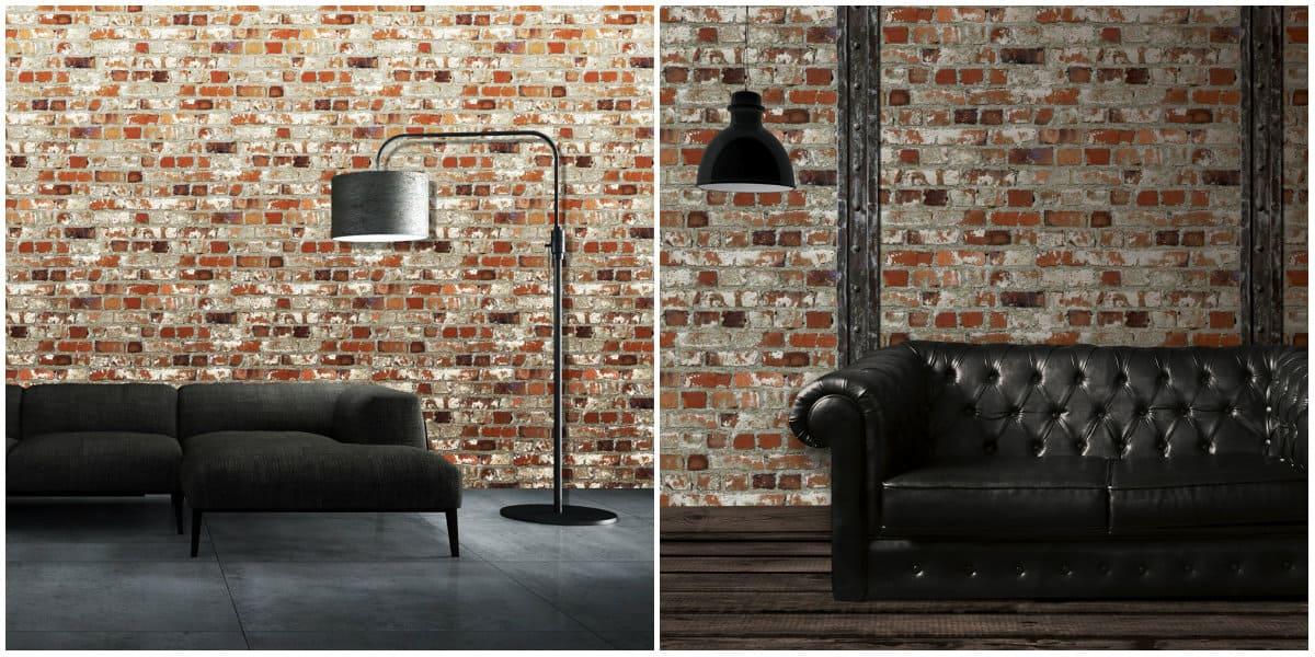 Wallpaper design2019: Brick wallpaper