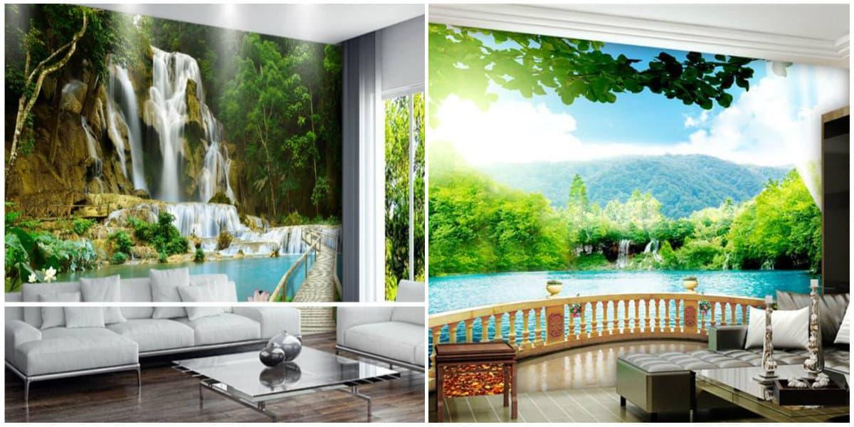 Wallpaper design2019: Landscape wallpaper