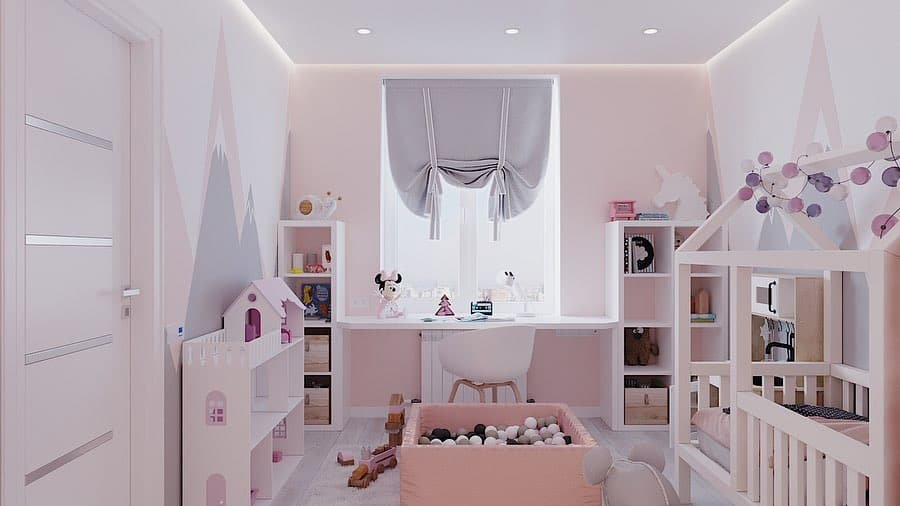 Girls Bedroom 2020: Girls Room Design Trends (35+ Photo ...