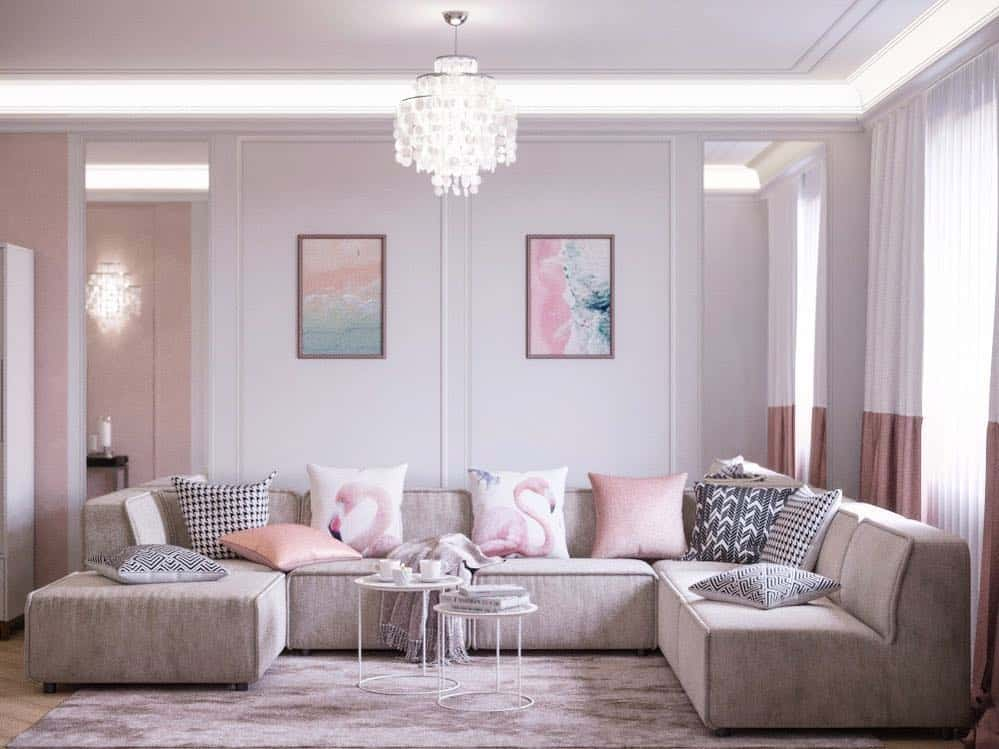 Living room furniture 2020: Trends, Colors