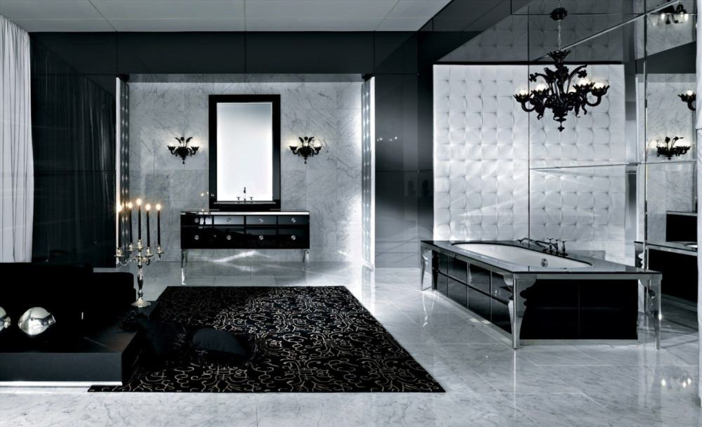 15 Brilliant Gothic Bathroom Ideas To Create Medieval Atmosphere